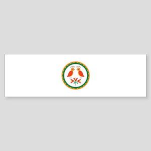 Double Distlefink Bumper Sticker