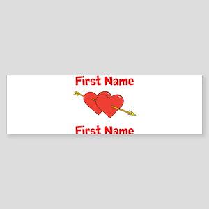 Loves Bumper Sticker