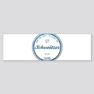 Schweitzer Ski Resort Idaho Bumper Sticker
