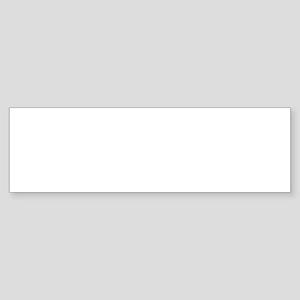 Turquoise Supercar Bumper Sticker