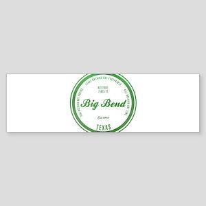 Big Bend National Park, Texas Bumper Sticker