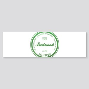 RedWood National Park, California Bumper Sticker