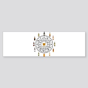 Circle of Whiskey 5th Bumper Sticker