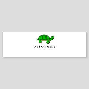 Turtle Design - Add Your Name! Bumper Sticker