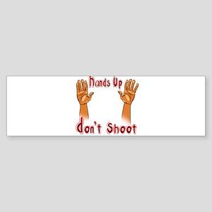 Hands Up! Sticker (Bumper)