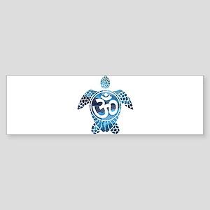 Ohm Turtle Bumper Sticker