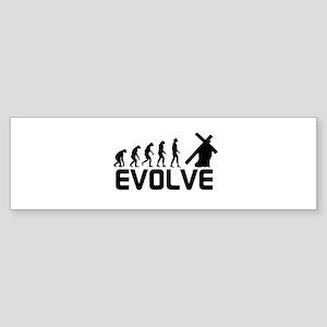 Evolve in Christ Sticker (Bumper)