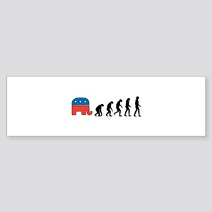 Evolve from Politics 1 Bumper Sticker