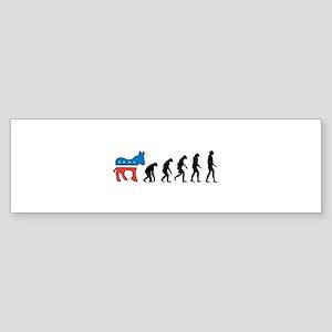 Evolve from Politics 2 Bumper Sticker