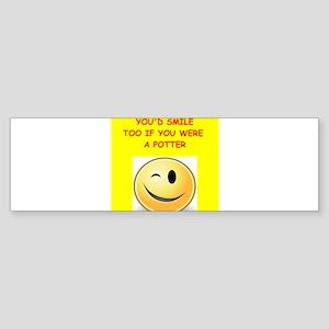 potter Bumper Sticker