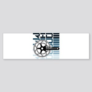 cycling-01 Bumper Sticker