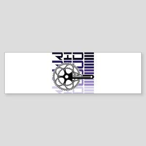 cycling-02 Bumper Sticker