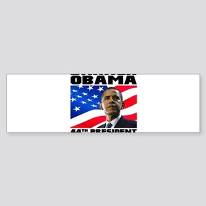44 Obama Sticker (Bumper)