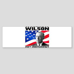28 Wilson Sticker (Bumper)