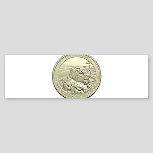 Virginia Quarter 2014 Basic Sticker (Bumper)