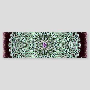 Metallic Celtic Knot Bumper Sticker
