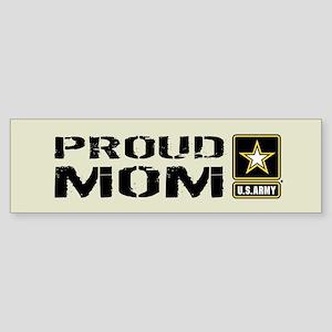 U.S. Army: Proud Mom (Sand) Sticker (Bumper)