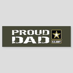 U.S. Army: Proud Dad (Military Gr Sticker (Bumper)