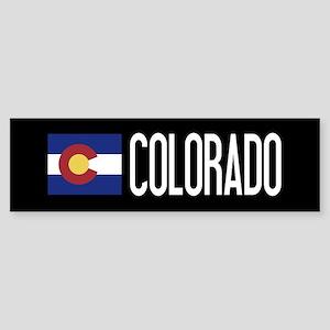 Colorado: Coloradan Flag & Colora Sticker (Bumper)