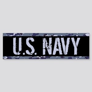 U.S. Navy: Camouflage (NWU I Colo Sticker (Bumper)