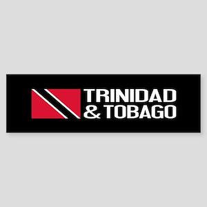 Trinidad & Tobago Flag Sticker (Bumper)