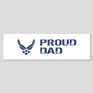 USAF: Proud Dad Sticker (Bumper)
