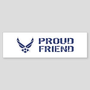 USAF: Proud Friend Sticker (Bumper)