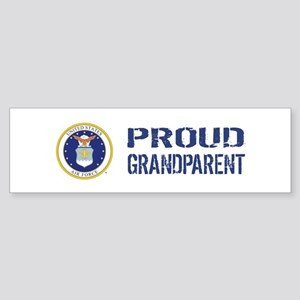 USAF: Proud Grandparent Sticker (Bumper)