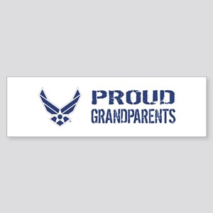 USAF: Proud Grandparents Sticker (Bumper)