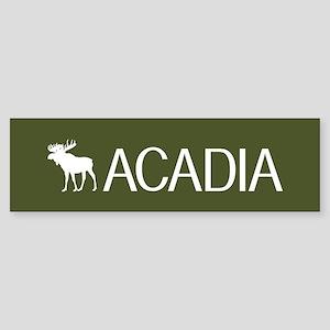 Acadia Moose Sticker (Bumper)