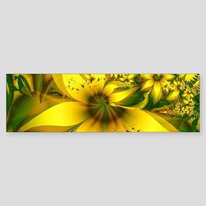 Beautiful Yellow-Green Meadow of Da Bumper Sticker