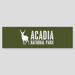 Deer: Acadia National Park, Maine Sticker (Bumper)