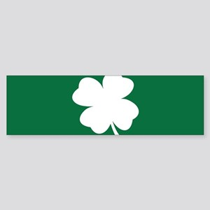 St Patricks Day Shamrock Bumper Sticker