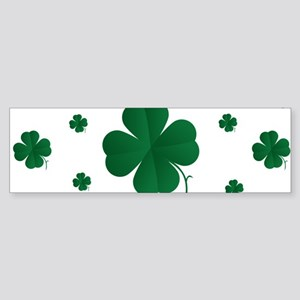 Shamrocks Multi Sticker (Bumper)