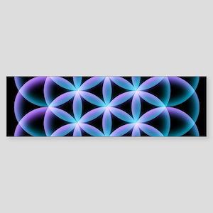 Flower of Life Mandala Bumper Sticker