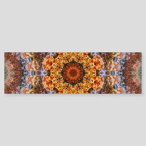 Grand Galactic Alignment Mandala Bumper Sticker