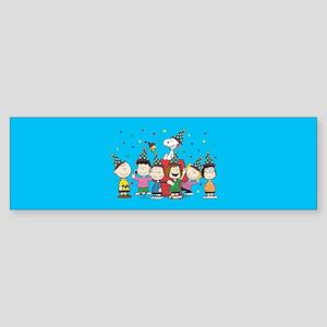 Peanuts Gang Birthday Sticker (Bumper)