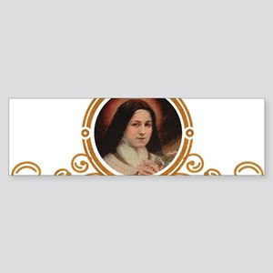 St. Therese Pray for Us Bumper Sticker