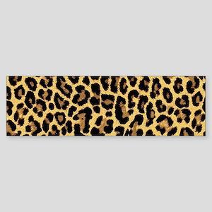 Leopard/Cheetah Print Bumper Sticker