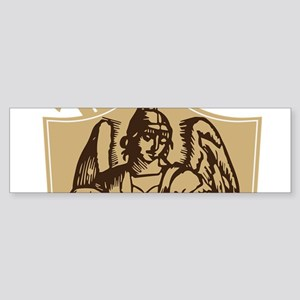 Saint Michael Shield Bumper Sticker