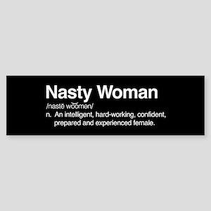 Nasty Woman Sticker (Bumper)