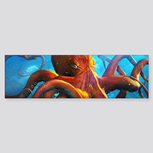 Octopus Bumper Sticker