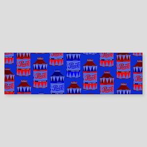 Pepsi Bottle Bumper Sticker