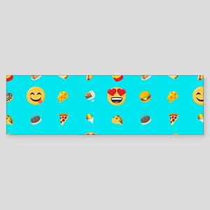 Emoji Food Bumper Sticker