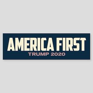 Trump 2020 - America First Sticker (Bumper)