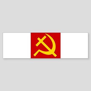 Emblem of Christian Socialism / Chr Bumper Sticker