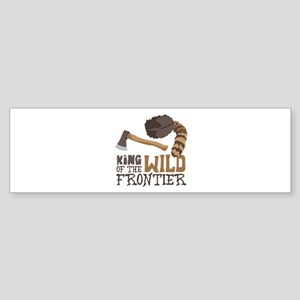 King of the Wild Frontier Bumper Sticker