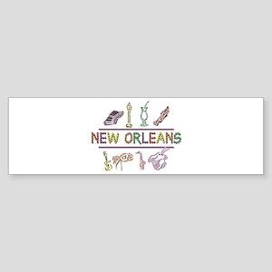 New Orleans Sticker (Bumper)