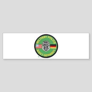 U S Military Police West Germany Sticker (Bumper)