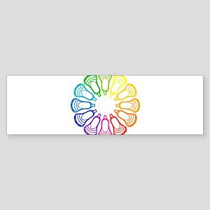 Lacrosse Spectrum Bumper Sticker